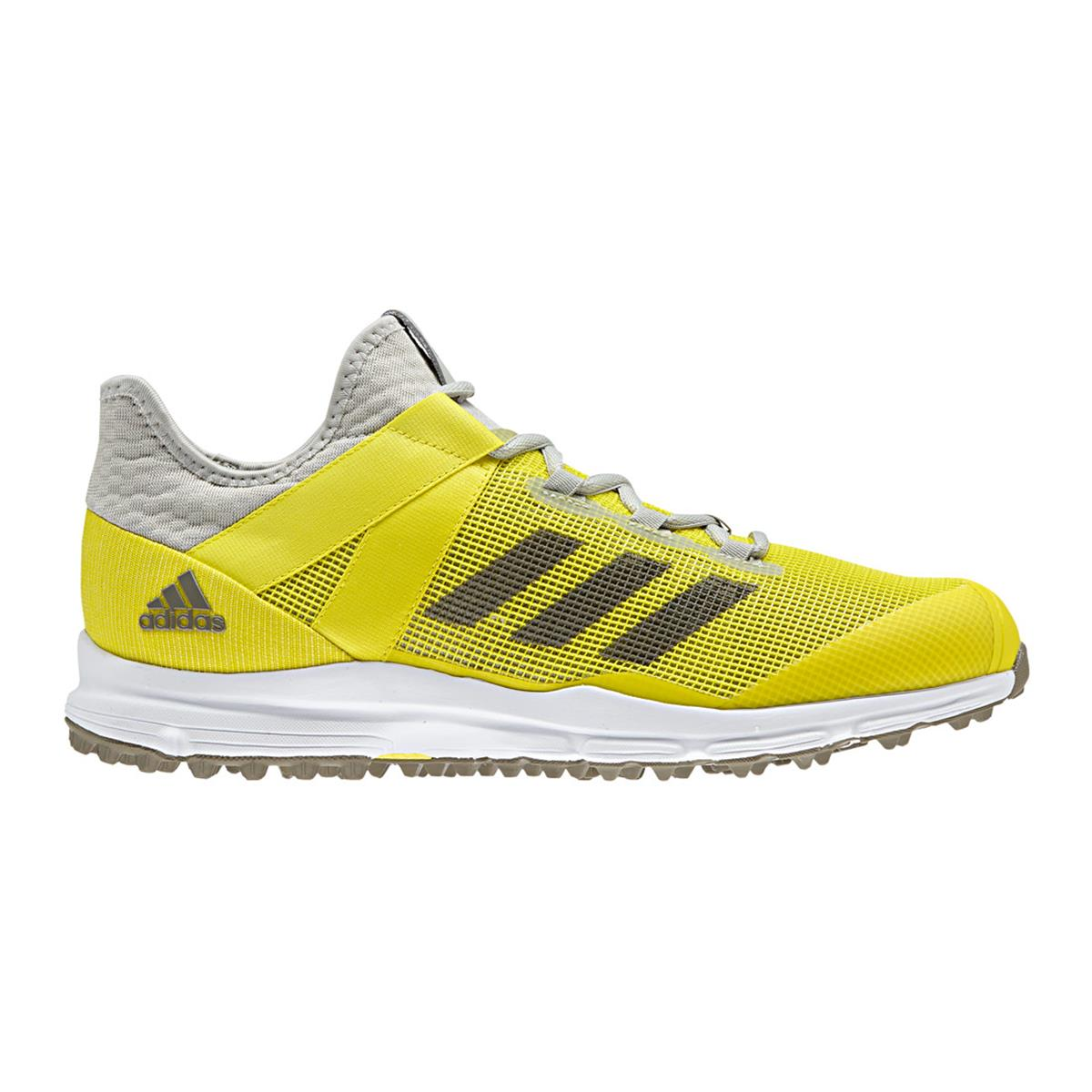 Adidas Zone Dox Hockey Shoes (Yellow