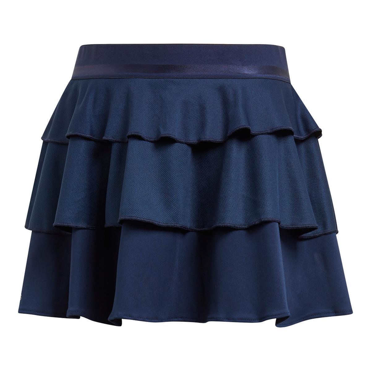 sale retailer 00c6e e5d99 Adidas Frilly Girls Skirt (Navy)