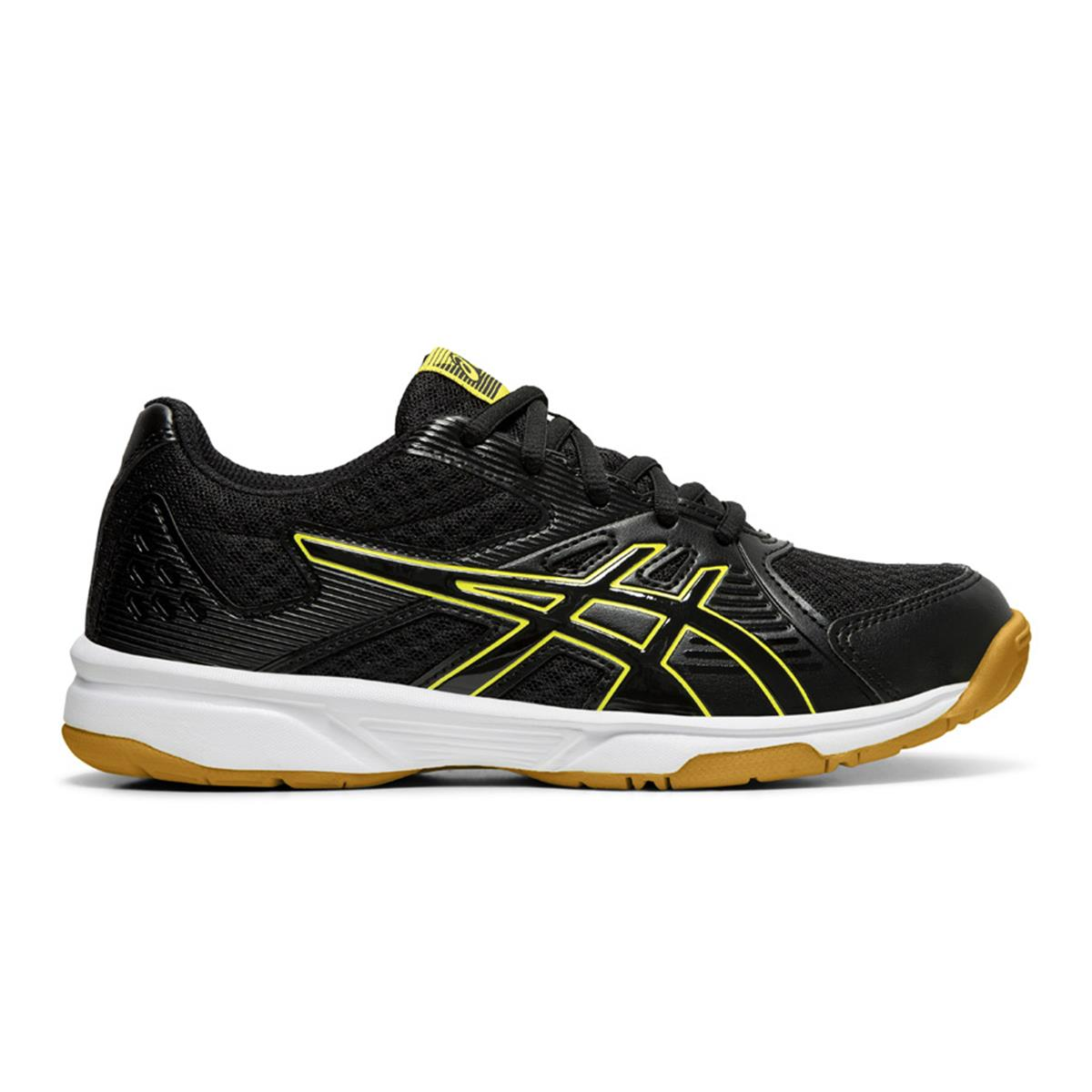 b6da249bbf2 Asics Gel Upcourt 3 GS Junior Court Shoes (Black-Sour Yuzu) |  directsportsEshop.co.uk