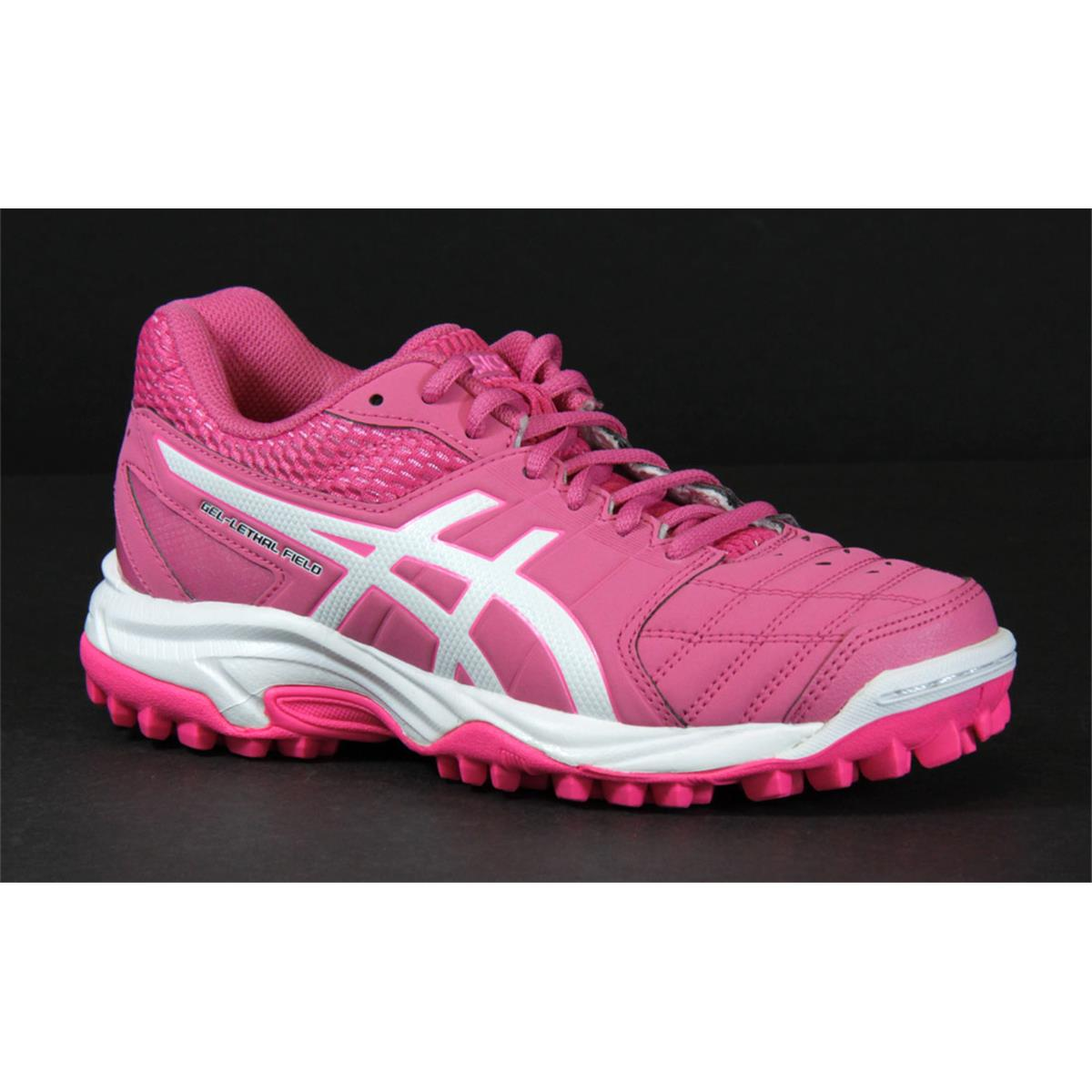 74b4f4d7e Asics Gel Lethal Field 2 GS Junior Hockey Shoes (Pink). Star Star Star Star  Star. Be the first to write a review. Image. Click to expand
