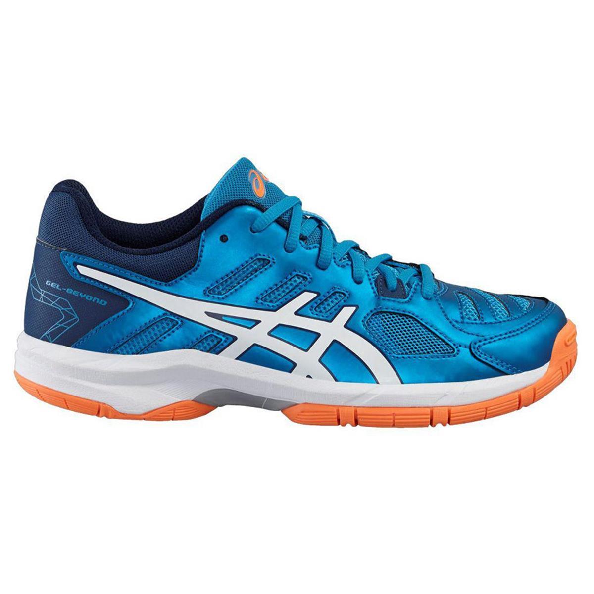 4af4c5b7210 Asics Gel Beyond 5 Junior Shoes (Blue Jewel-White-Hot Orange ...
