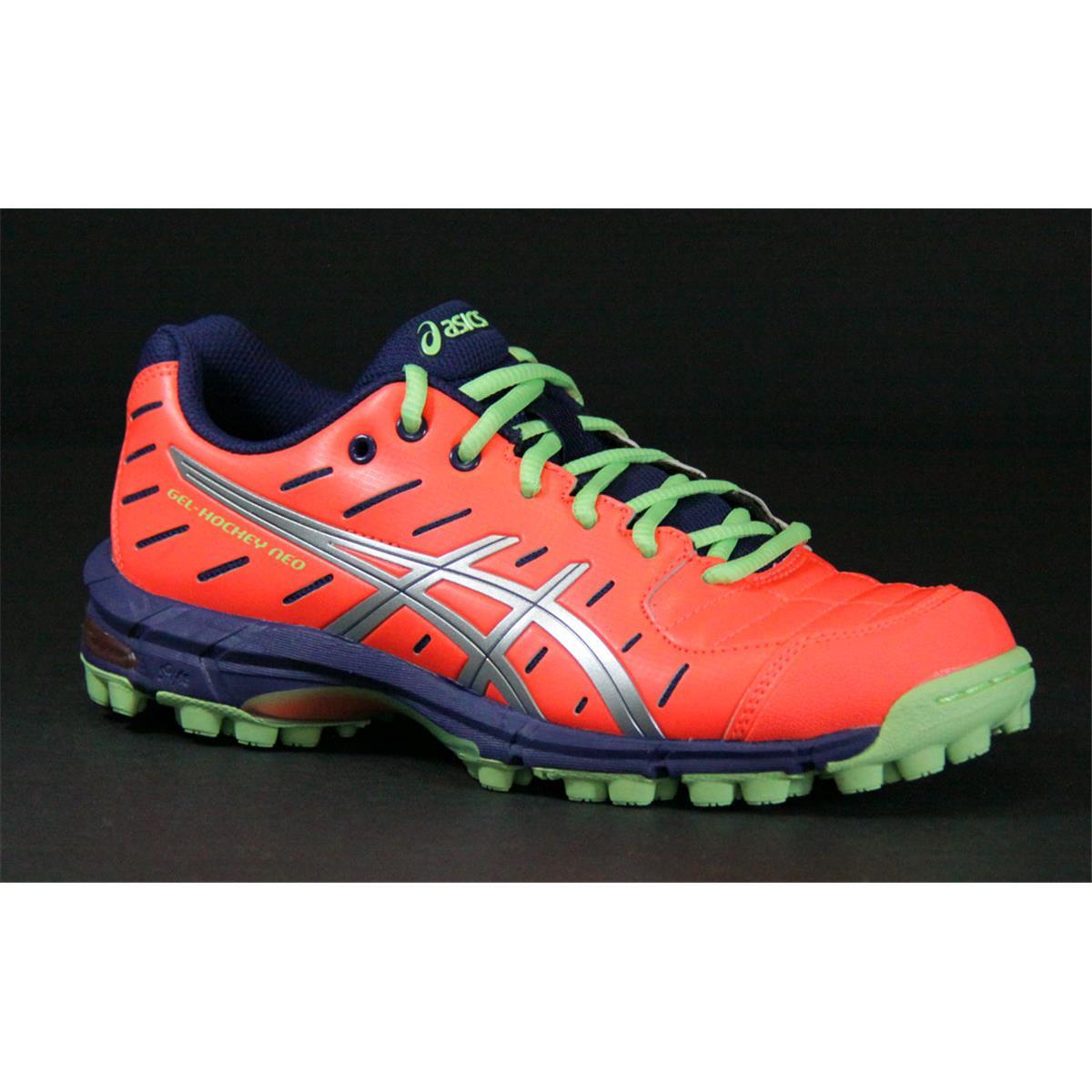 602694e96fe6 Asics Gel Hockey Neo 3 Womens Hockey Shoes (Coral ...
