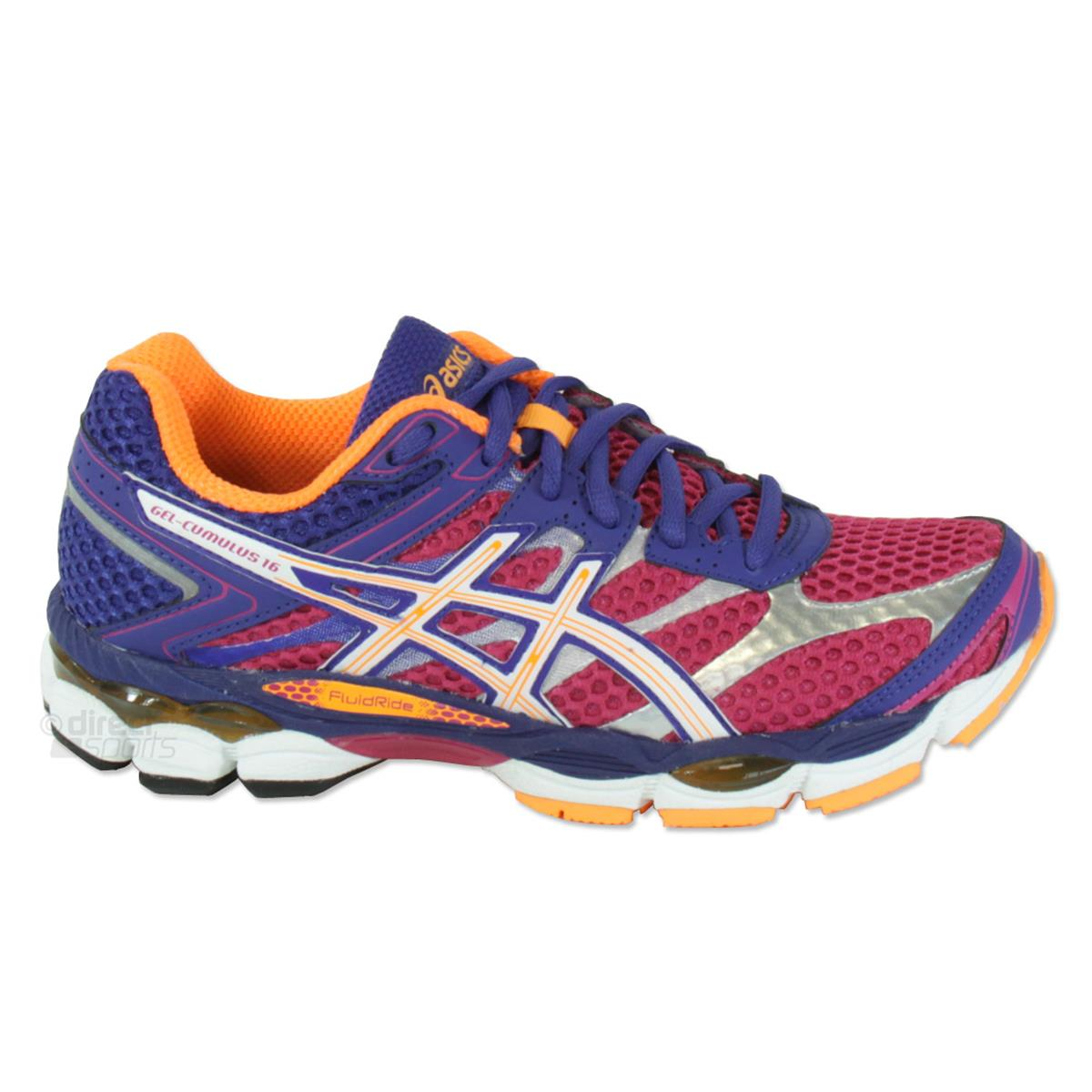 Asics Gel-Cumulus 16 Women's Running Shoes SS15 Womens Blue