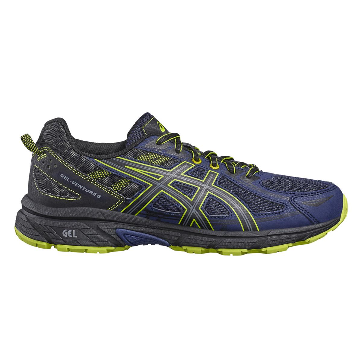 Asics Venture 6 Mens Trail Running Shoes (Indigo