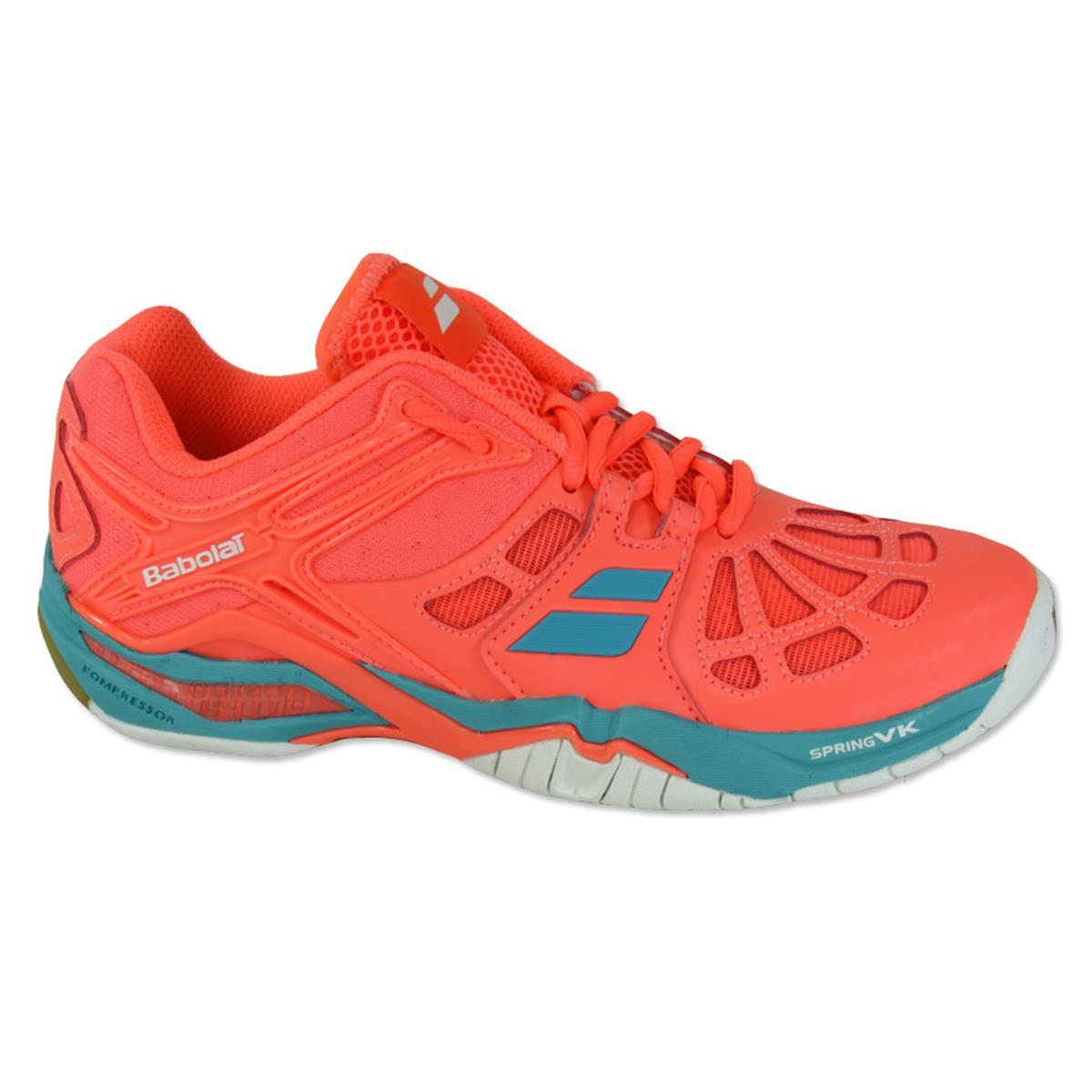 a6bfa9d7d96 Babolat Shadow 2 Womens Court Shoes (Fluor Pink ...