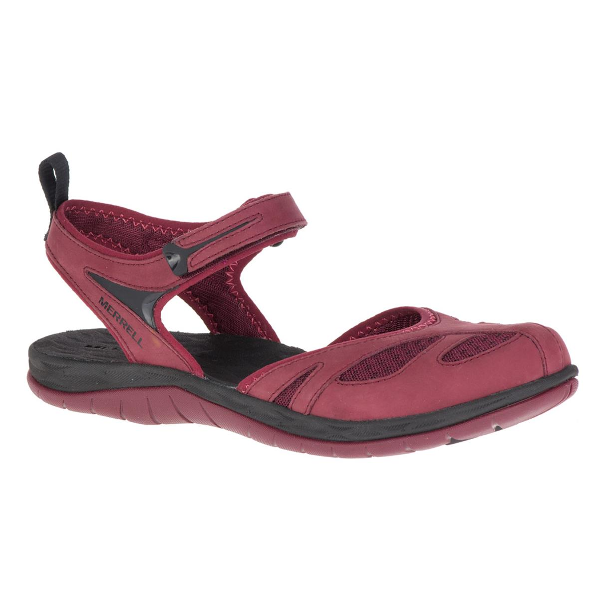 09757f64ccff Merrell Siren Wrap Q2 Womens Sandals (Chocolate Truffle ...