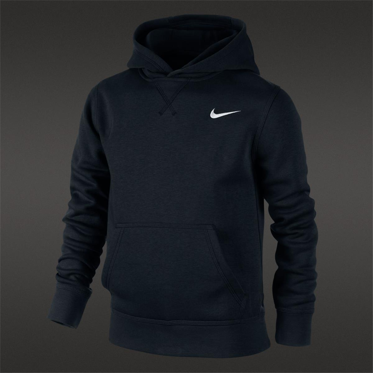 6207356c17fe Nike Brushed Fleece Junior Pullover (Black)