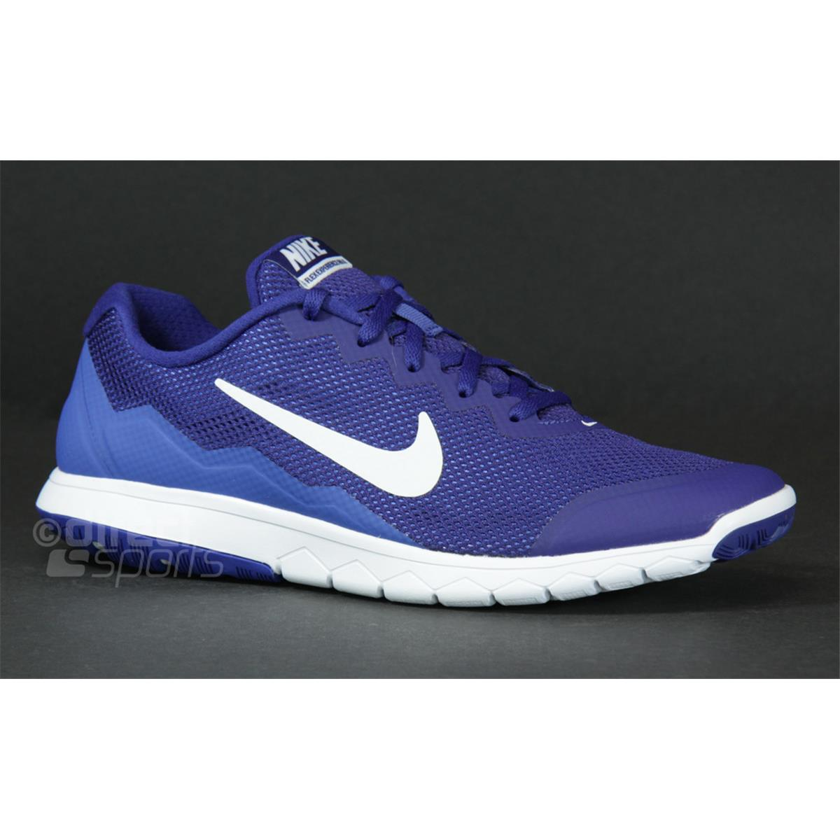 42d82e8a87d Nike Flex Experience RN Mans Running Shoes Black Blue
