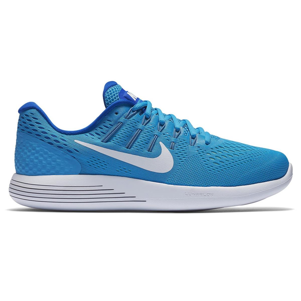 1c895aeeef5ea Nike Lunarglide 8 Womens Running Shoes (Blue)