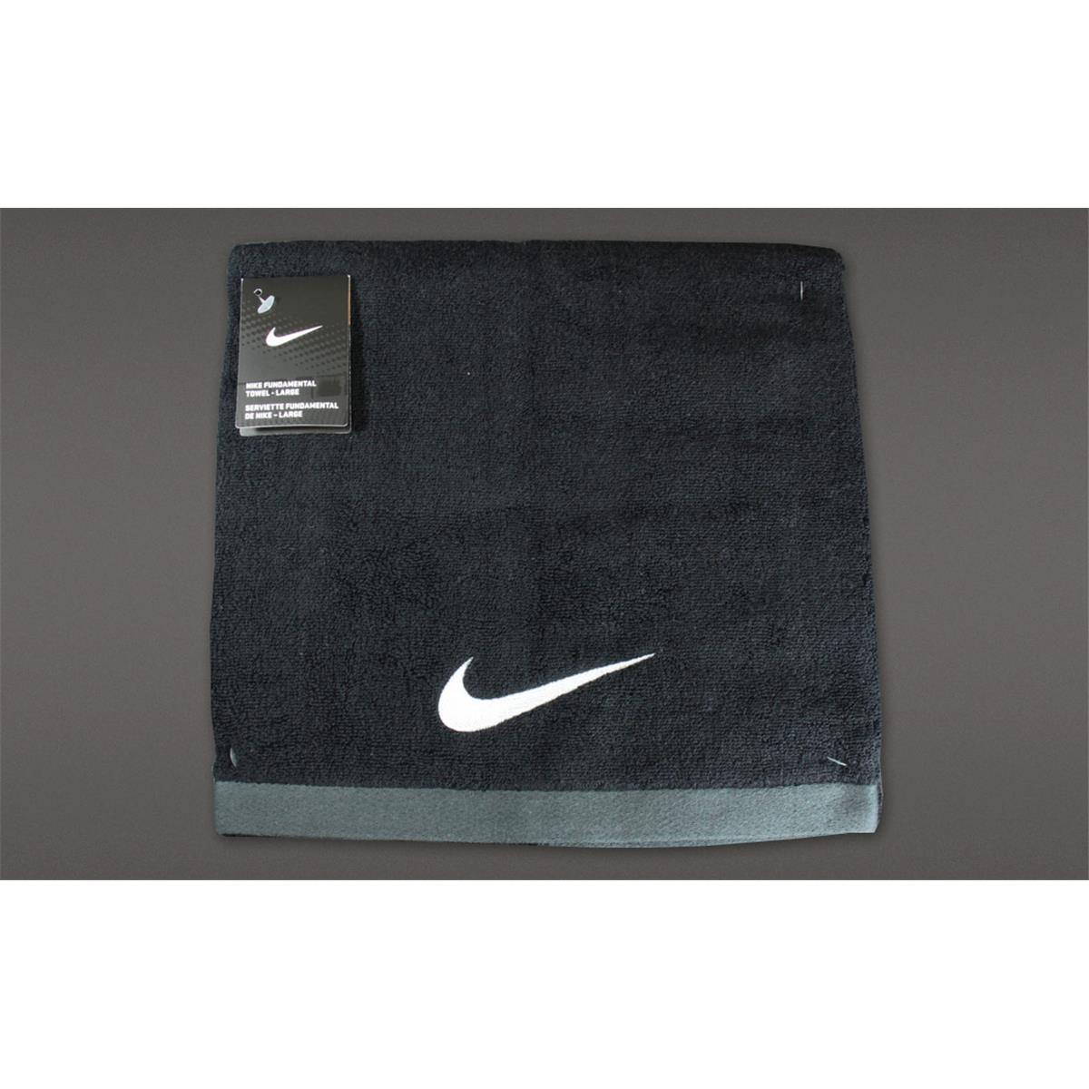 6be0251c Nike Fundamental Towel (Black) Large   directsportseshop.co.uk