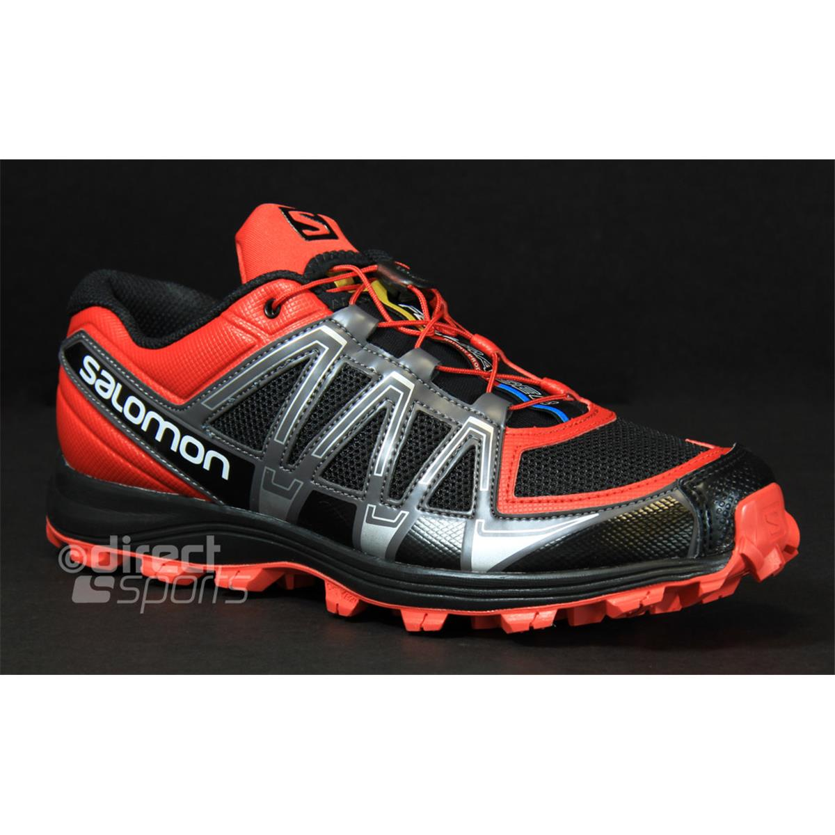 Netherlands Mens Salomon Fell Raiser - Dssport Running Mens Running Shoes Salomon Salomon Fellraiser Mens Running Shoes (black Bright Red) Productid 3d18323
