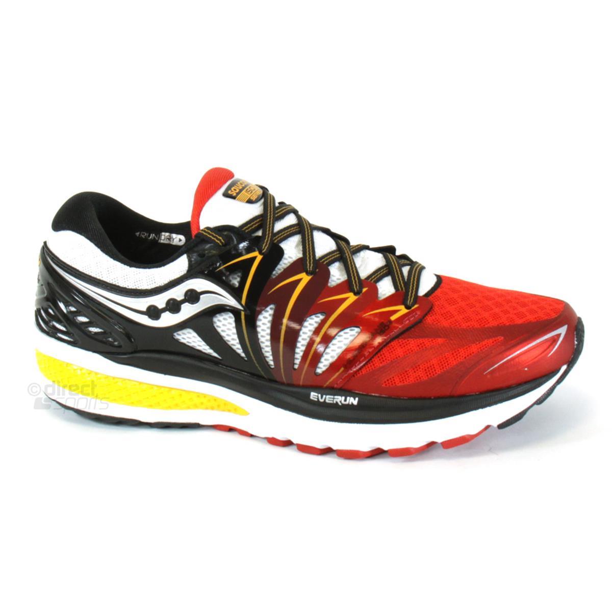 0ba9ecaa Saucony Hurricane ISO 2 Mens Running Shoes (Red-White-Orange ...