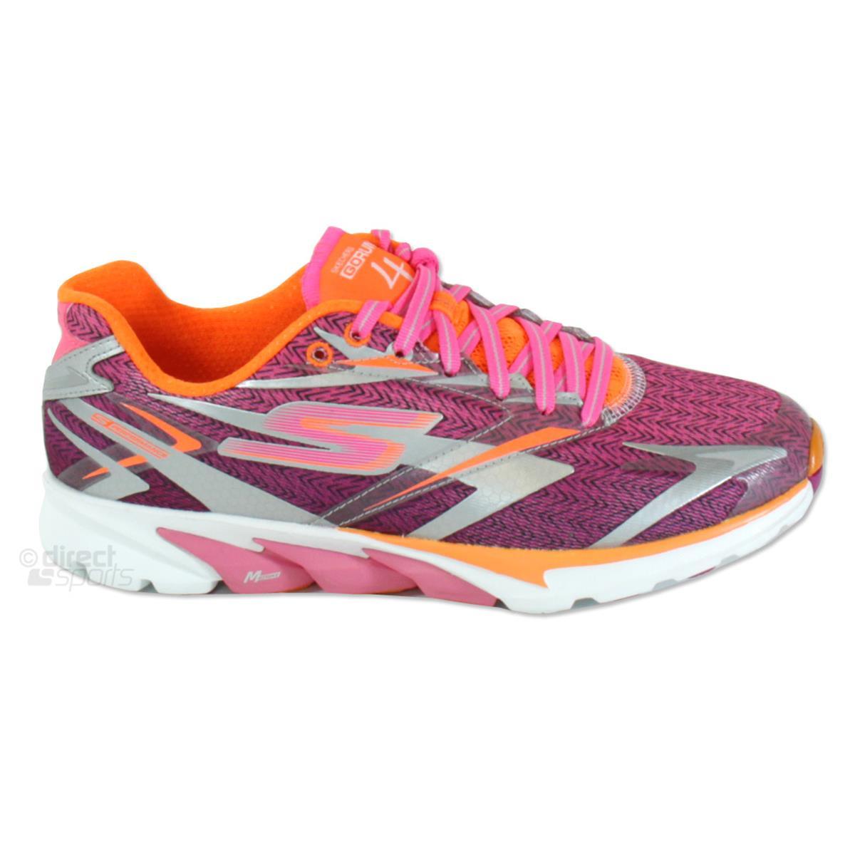 64b0786369b216 Skechers GoRun 4 Womens Running Shoes (Hot Pink ...
