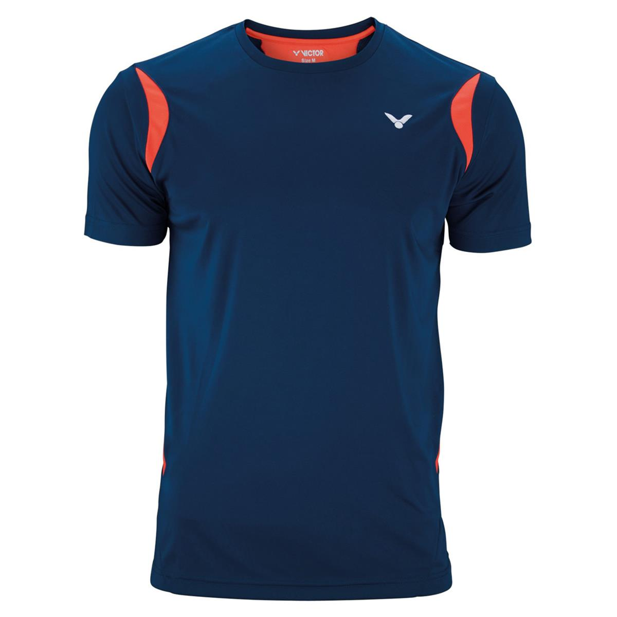 Victor Team Line Unisex Function T-Shirt (Coral)