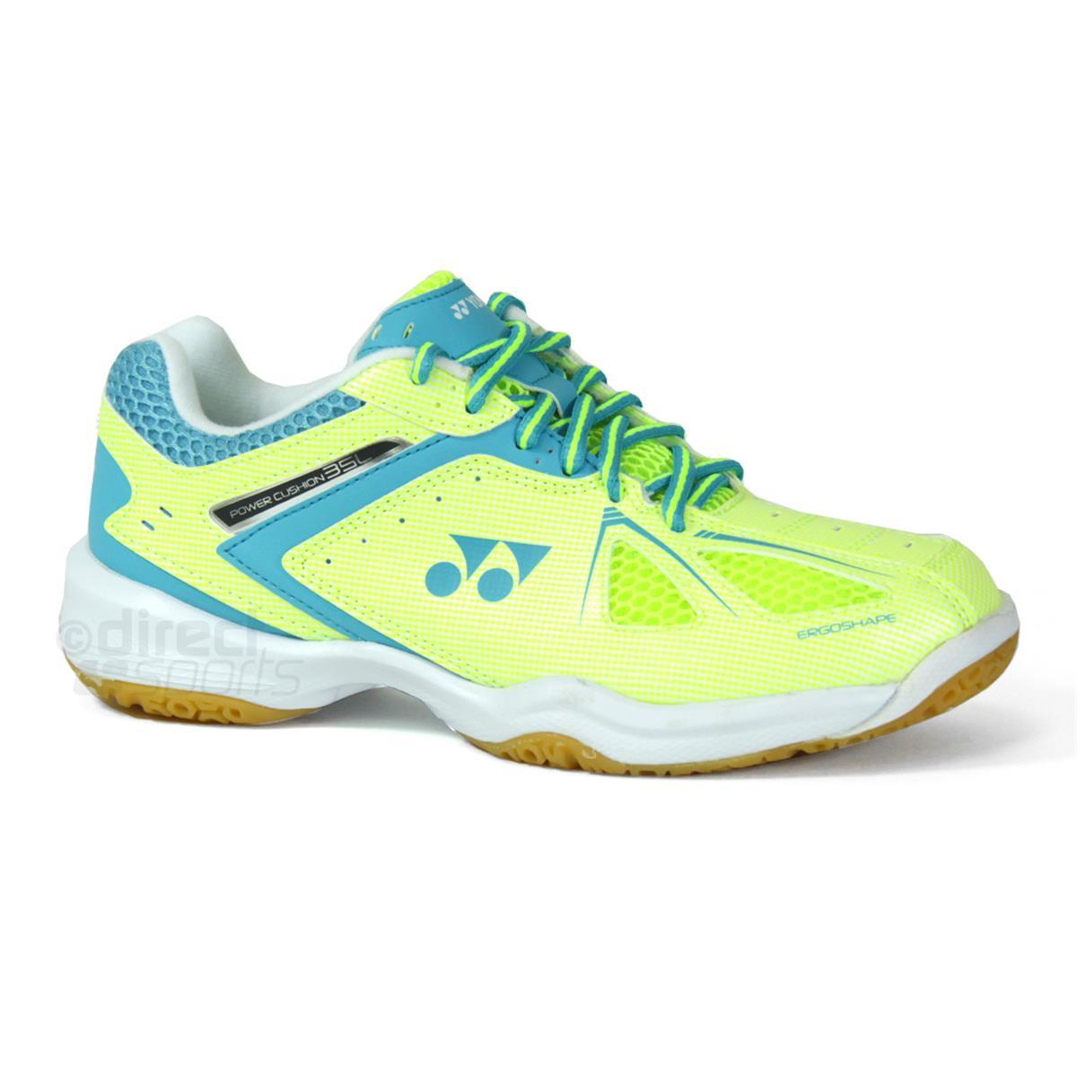 Yonex Womens Power Cushion 03zl Badminton Shoes yellow Squash