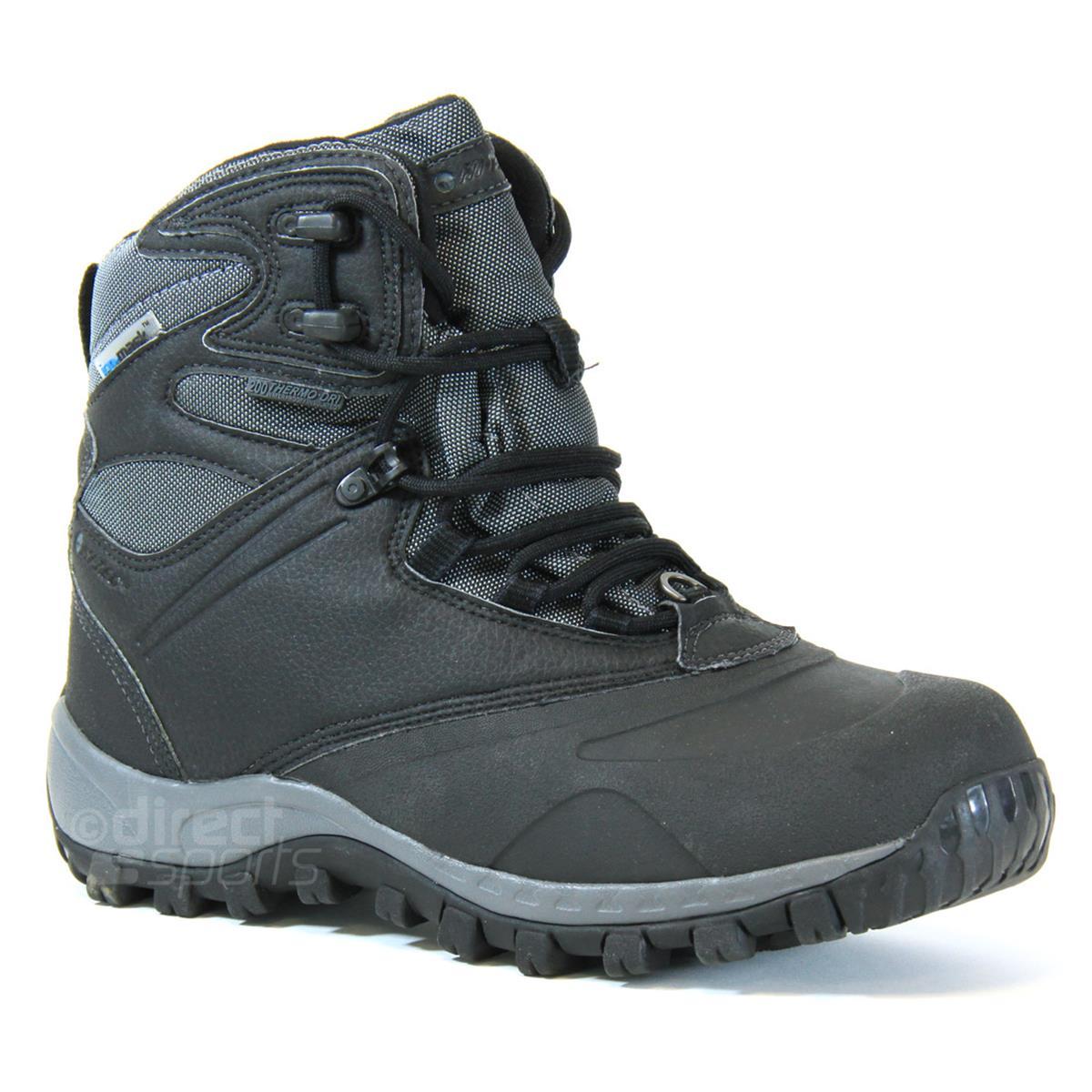 c4e0a725c74 Hi-Tec Bear Valley 200i Waterproof Mens Boots (Black-Charcoal)    directsportsEshop.co.uk
