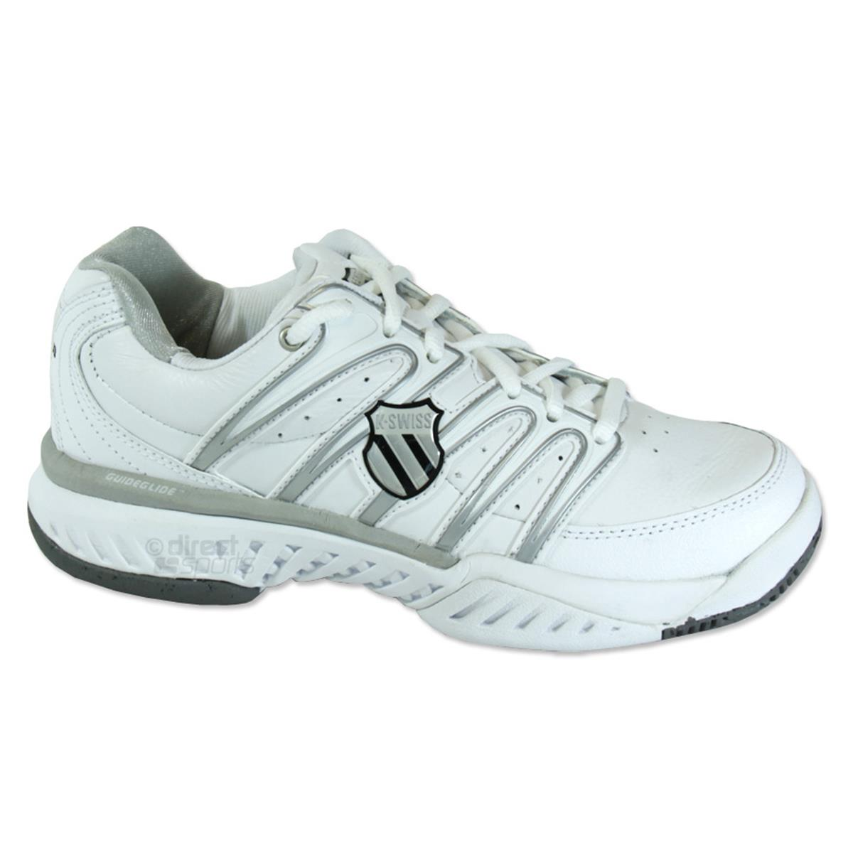 K Swiss Womens Tennis Shoes White Sil