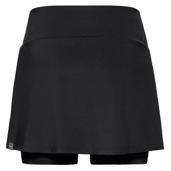 Head Club Womens Long Skort (Black)