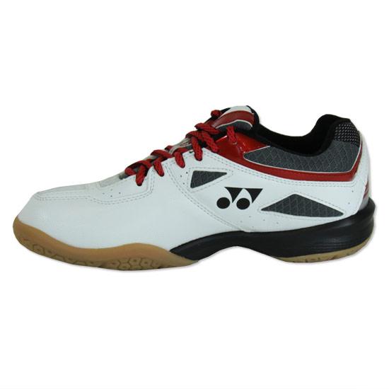 f52cd0165f1 Yonex Power Cushion 36J Junior Badminton Shoes (White-Red ...