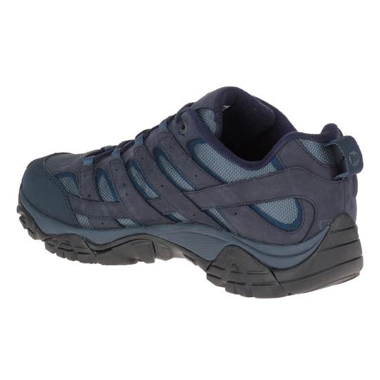 5a37f822db5 Merrell Moab 2 Smooth Gore-Tex Mens Shoes (Navy) | directsportsEshop.co.uk