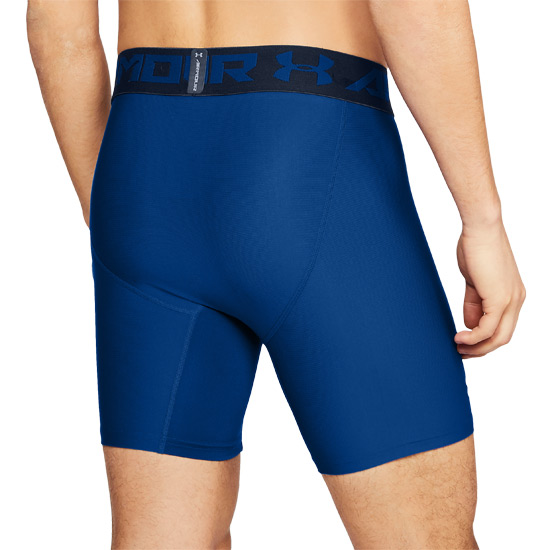 Under Armour HeatGear Compression 2.0 Mens Shorts (Royal)
