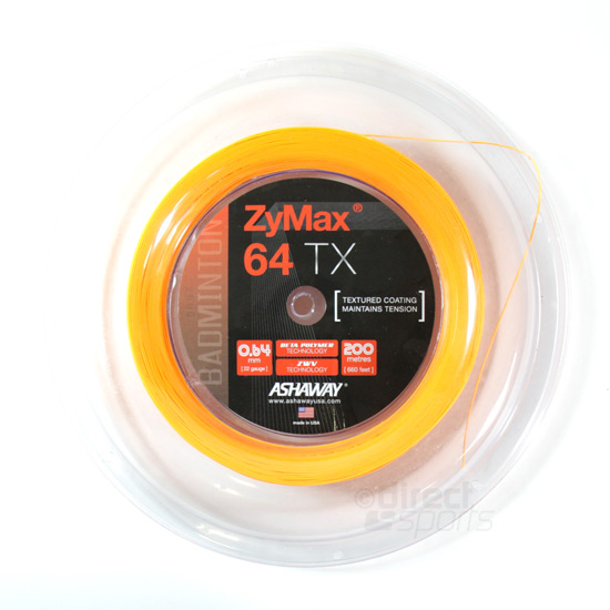 ASHAWAY ZyMax 69 Fire Badminton String 200m Reel