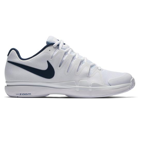 ffb3b6fb66551 Nike Zoom Vapor 9.5 Tour Mens Tennis Shoes (White-Blue)
