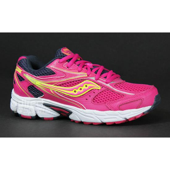 57bc99d8d808 Saucony Cohesion 8 LTT Junior Running Shoes (Pink ...