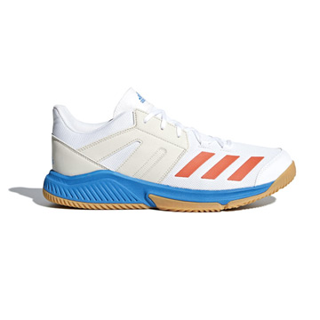 912bfd7c1 adidas Essence Court Shoes (White-Blue)