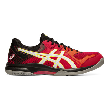 ed5419f29478b Asics Gel Rocket 9 Mens Court Shoes (Speed Red-White)