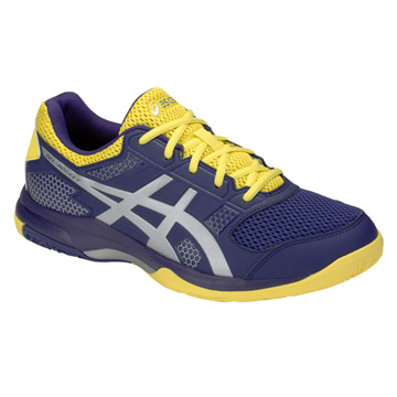 7a8c95d61f65a Asics Gel Rocket 8 Mens Court Shoes (Indigo Blue-Silver)