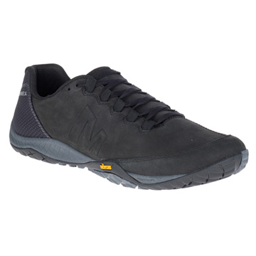 Merrell Parkway Emboss Lace Mens Shoes (Black)