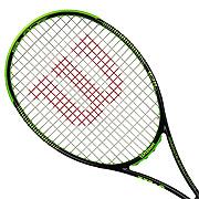 Wilson Blade 104 Unstrung Tennis Racket (Black-Green