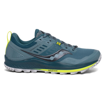 Saucony Peregrine 10 Mens Running Shoes (Steel)